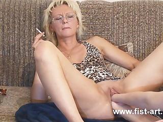 блондинка заниматься порно