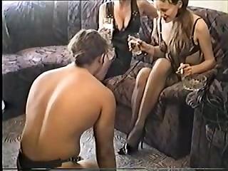 Секс домины унижают лизунов смотреть